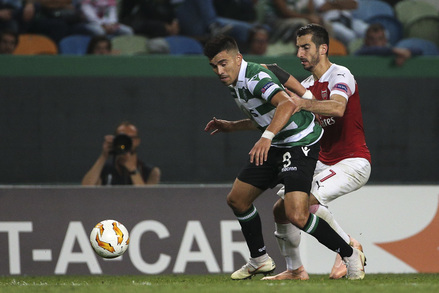Sporting x Arsenal - Europa League 2018/2019 - Fase de Grupos Grupo E