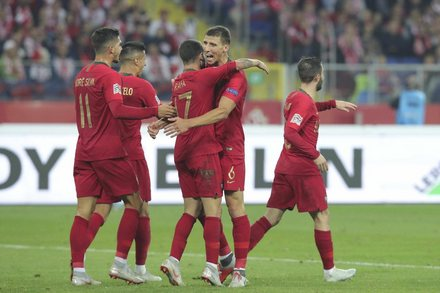 Polónia x Portugal - UEFA Nations League A 2018/2019 - Fase de Grupos Grupo 3